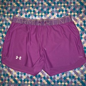 Under Armour Athletic Heat Gear Running Shorts